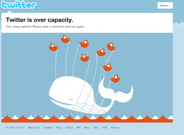 twitter home page this morning